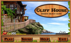 Free Hidden Object Game - Cliff House screenshot 1/4