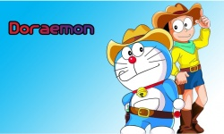 Doraemon and Nobita anime HD Wallpaper screenshot 1/6