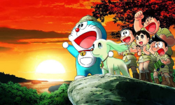 Doraemon and Nobita anime HD Wallpaper screenshot 4/6