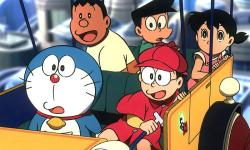 Doraemon and Nobita anime HD Wallpaper screenshot 5/6