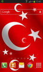 Turkey Flag LWP screenshot 2/2