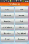 PortalGate UK - News Sport Weather and more screenshot 1/6
