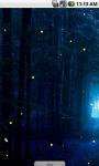 Night Fireflies Live Wallpaper screenshot 2/4
