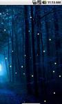Night Fireflies Live Wallpaper screenshot 3/4