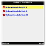 Nelson Mandela Quiz screenshot 3/3