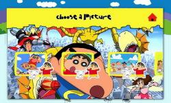 Shin-Chan Puzzle-sda screenshot 3/5