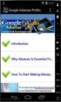 Google AdSense Profits screenshot 1/3