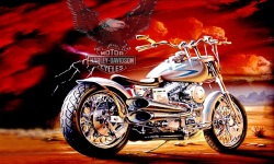 Download Harley Davidson Wallpaper screenshot 4/6