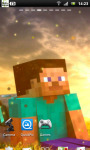 Minecraft Live Wallpaper 1 screenshot 1/3