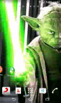 Starwars Master Yoda Live Wallpaper screenshot 1/6