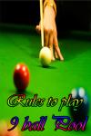 Rules to play 9 ball Pool screenshot 1/4
