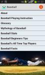 Baseball Playing Tips screenshot 1/3