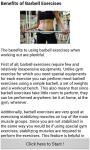 Barbell Workouts screenshot 1/3
