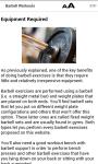 Barbell Workouts screenshot 3/3