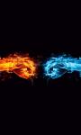 Fire Fist vs Water Fist Live Wallpaper screenshot 1/4