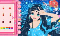Anime Pretty Selfie Postcard screenshot 2/3