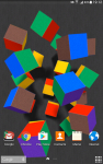 Flying Cubes Live Wallpaper Free screenshot 1/4