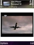 Live2Phone Personal TV screenshot 1/1