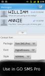 Font SMS Pro screenshot 4/6