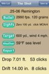 Let Fly Deluxe Ballistics Calculator screenshot 1/1