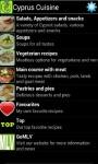 Cyprus Cuisine screenshot 1/2