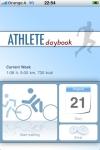 Athlete daybook screenshot 1/1