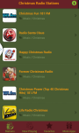 Christmas Radio Stations screenshot 2/6