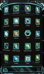 Next Launcher 3D Tron Theme screenshot 2/4
