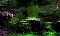 Green Waterfall Live Wallpaper screenshot 2/3