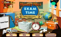 Free Hidden Object Games - Exam Time screenshot 1/4