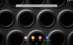 XPERIA Black Steel Theme plus screenshot 2/6