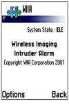 Wireless Imaging Intruder Alarm screenshot 1/1