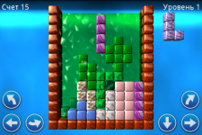 Tetris Glare 3D screenshot 1/3