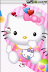 Hello Kitty Baby Cute Live Wallpapers screenshot 3/5