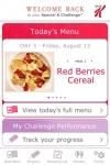 myPlan  The Special K Challenge mobile app screenshot 1/1