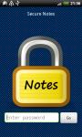 Secure Notes - Free screenshot 1/6