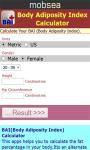 Body Adiposity Index Calculator screenshot 2/3