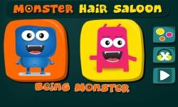 Monster Hair Salon - Game screenshot 1/5