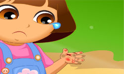 Dora Hand Doctor Caring screenshot 2/6