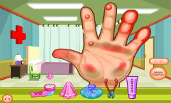 Dora Hand Doctor Caring screenshot 3/6