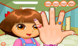 Dora Hand Doctor Caring screenshot 6/6