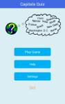 Capitals Quiz Game screenshot 1/6
