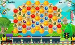 Honeycomb Farm Match 3 screenshot 4/6