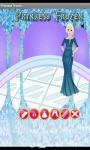 Princess Frozen Dress Up Games screenshot 1/3