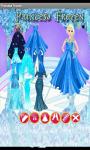 Princess Frozen Dress Up Games screenshot 2/3