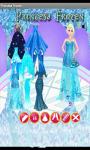 Princess Frozen Dress Up Games screenshot 3/3