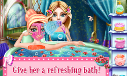 SnowFlake Princess Fairy Salon screenshot 1/5