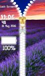 Lavender Zipper Lock Screen Best screenshot 6/6