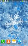 Snowflake Live Wallpapers Best screenshot 2/6