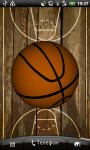 Basketball 3D Live Wallpaper screenshot 3/6